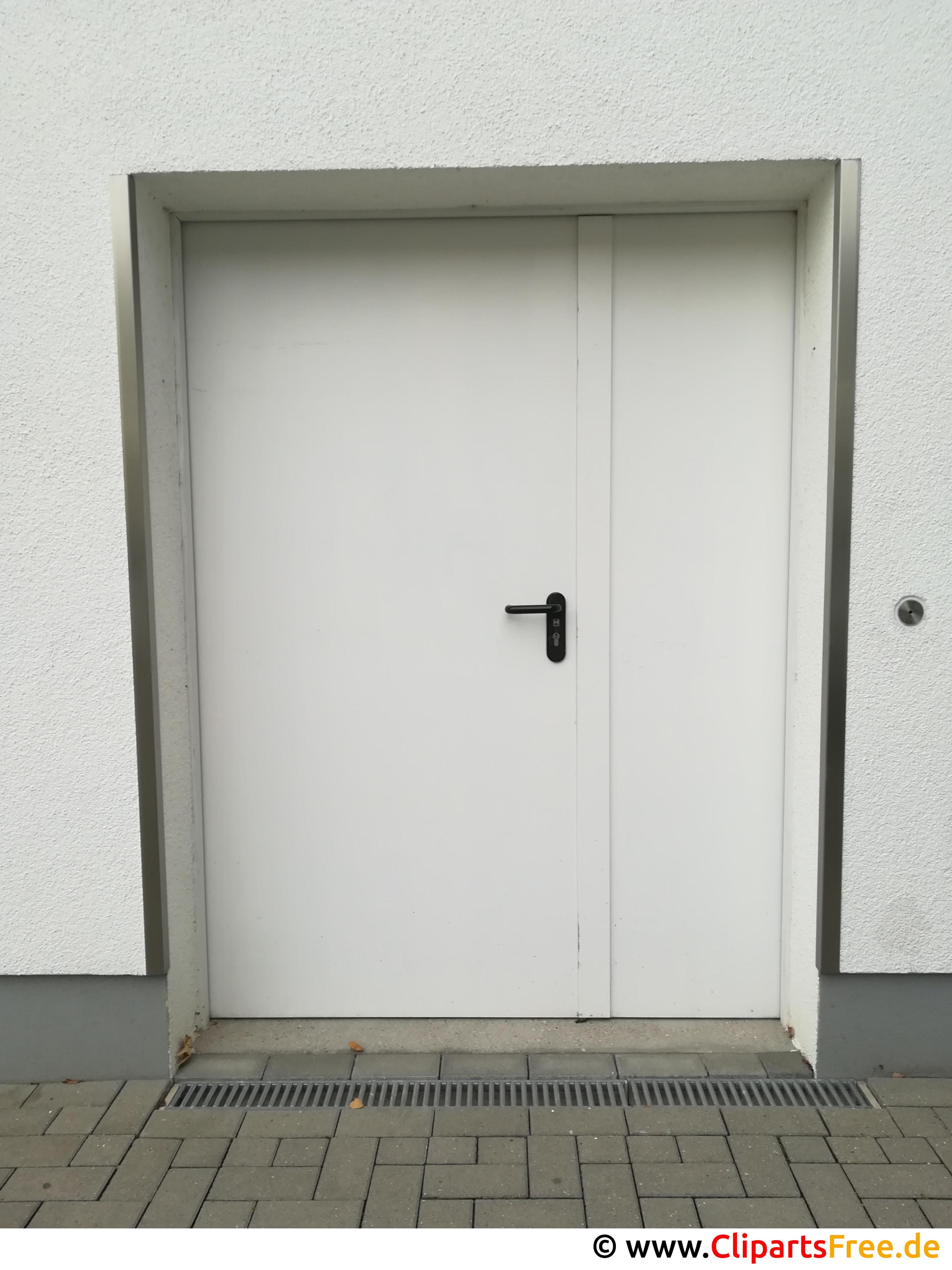 Weisse Tür Foto