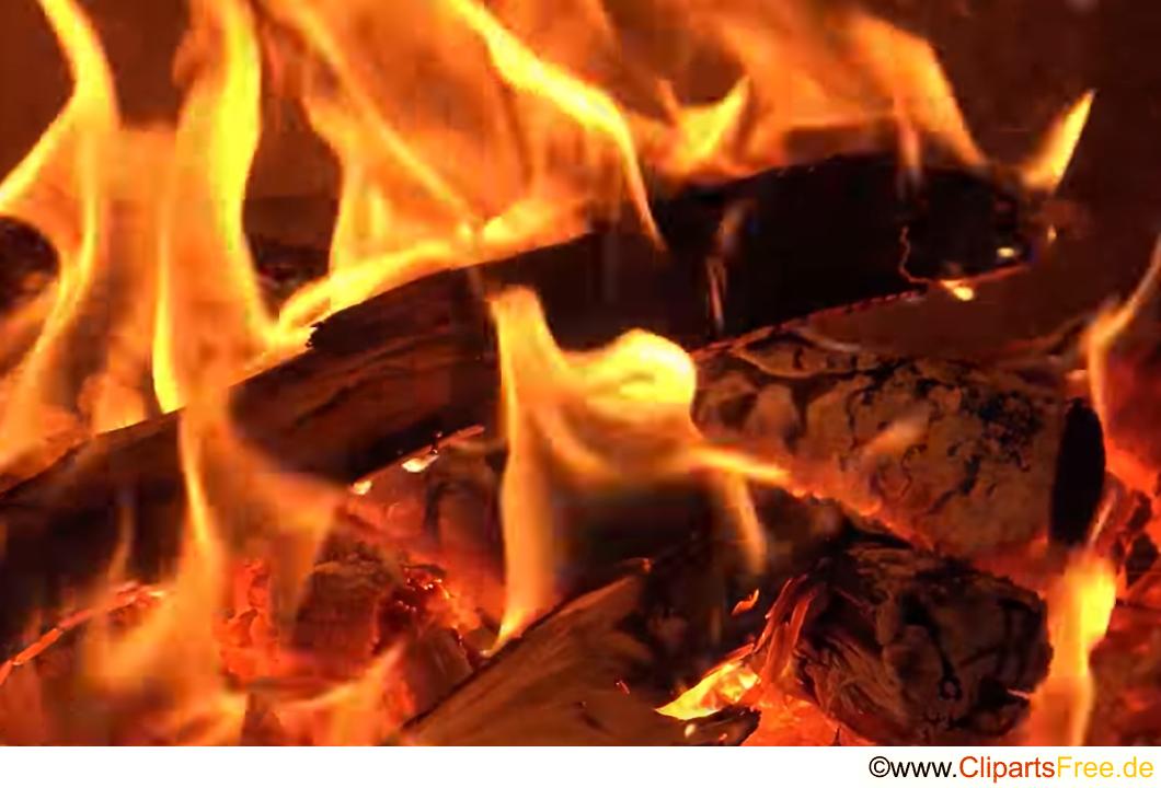 Feuer im Ofen Fotobank kostenlos