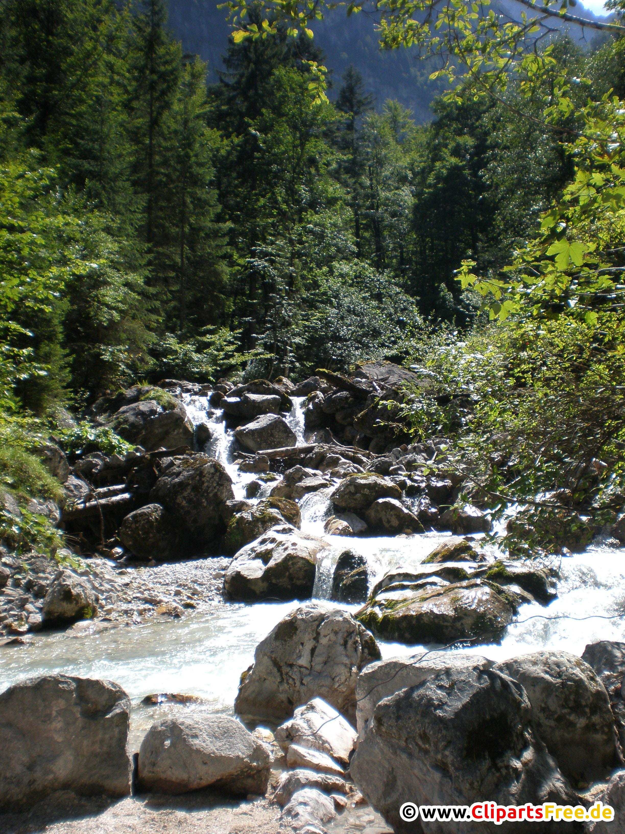 Bergfluss Foto kostenlos