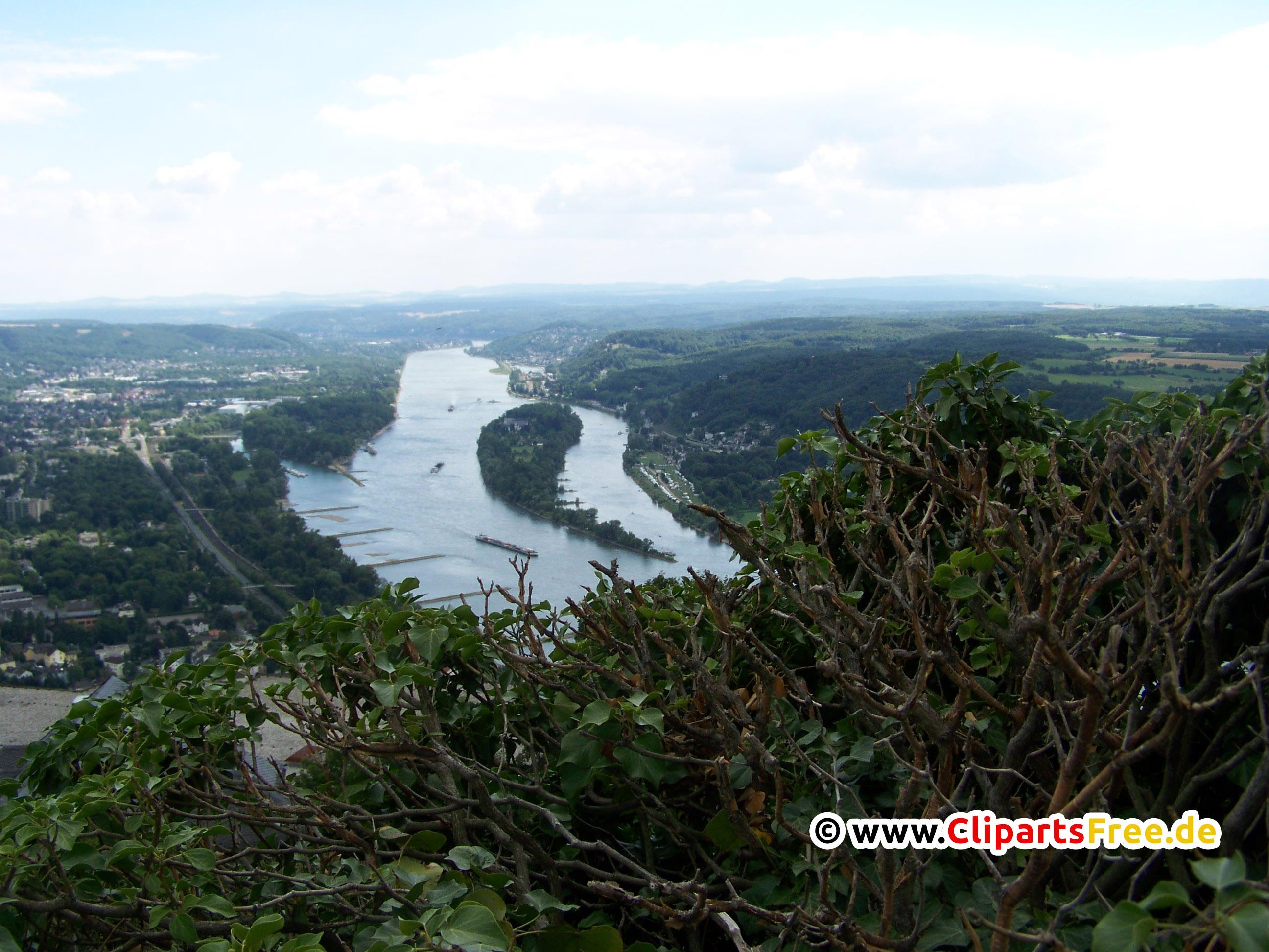 Rhein Foto in Hochauflösung kostenlos