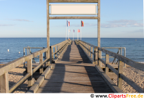 Pier on the Baltic Sea Photo, image, graphics for free