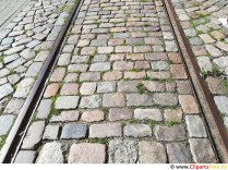 Old tram tracks free picture, photo