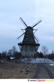 Gratis foto vindmølle