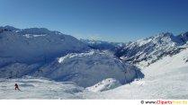 Ski area image, photo, graphic for free