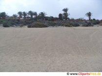 Sandstrand in Spanien Foto kostenlos