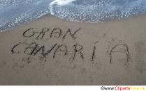 Håndskrift i sandet på stranden foto gratis