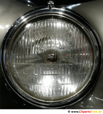 Spotlights retro chrome background image, photo