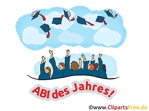 Schulabschluss Glückwünsche, Karten, Bilder, Cliparts