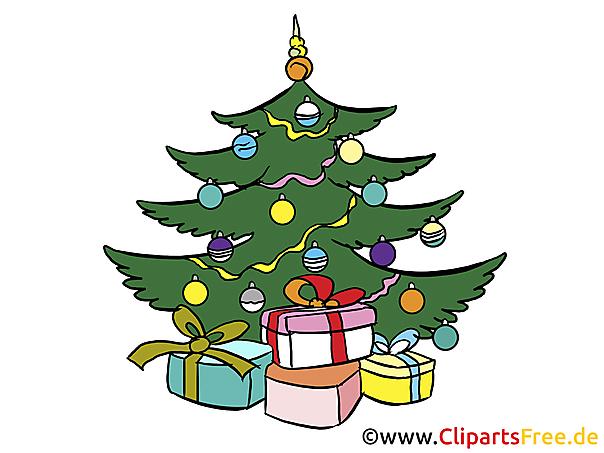 4 Advent Images - Kerstboom op heilige avond