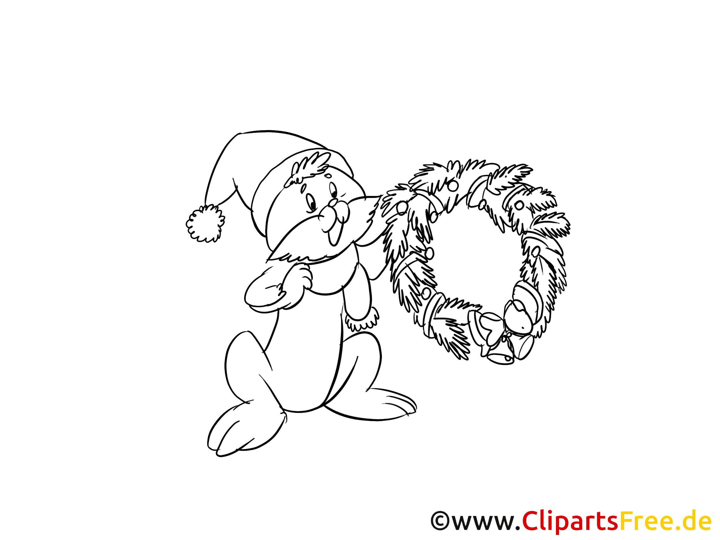 Kostenlose Bilder zum Ausmalen Weihnachten
