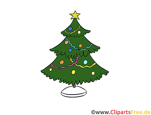 O Tannenbaum Illustration, Bild, Clipart, Grafik