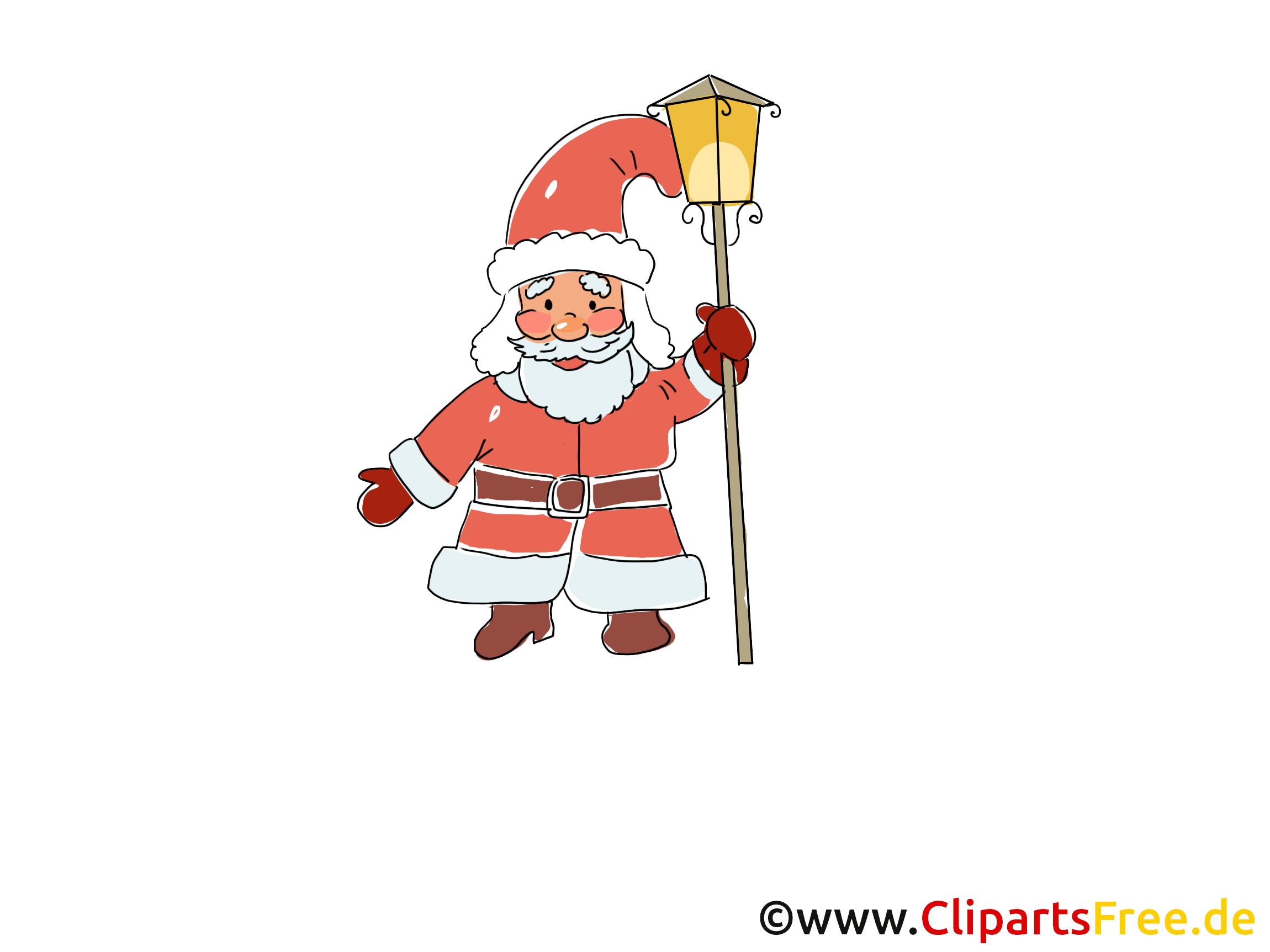 Santa Claus clipart, afbeelding, afbeelding