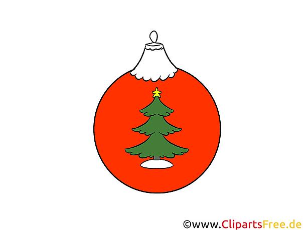 Weihnachtsbaumschmuck Bild, Illustration, Clipart