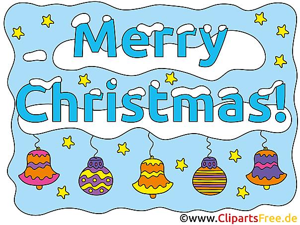 xMas Card Merry Christmas gratis