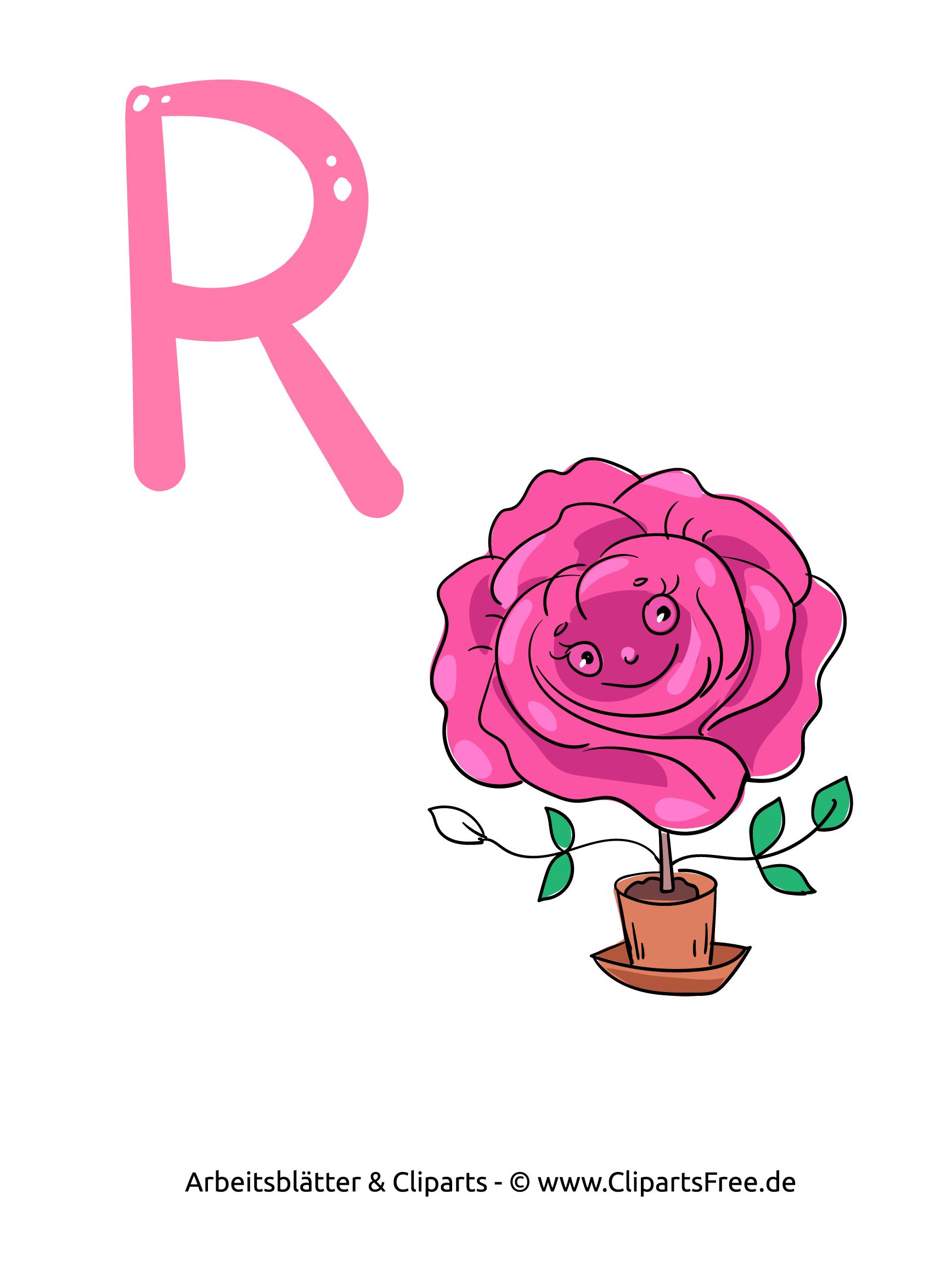 R Abc Buchstaben Zum Ausdrucken