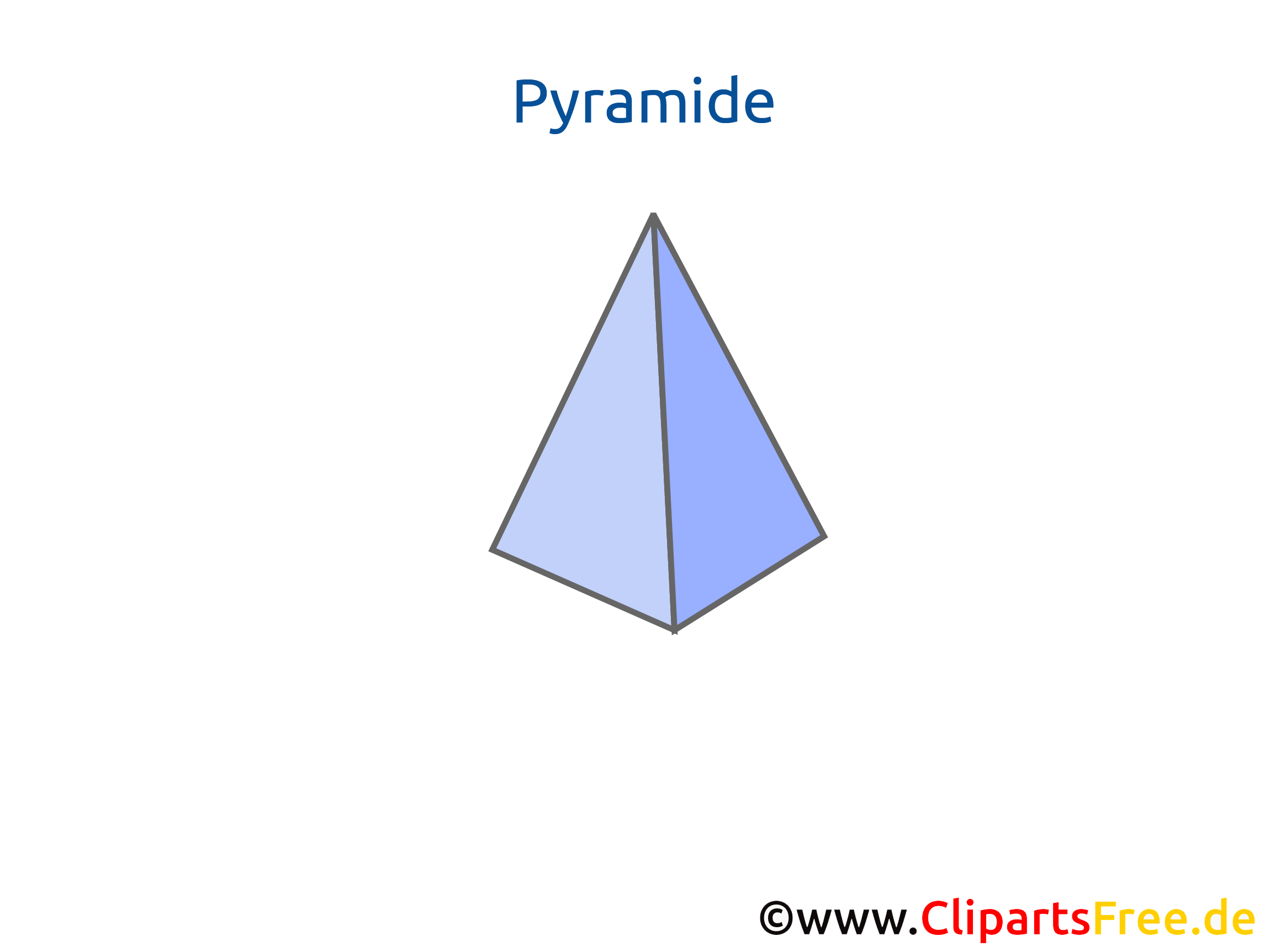 Pyramide Geometrie Arbeitsblätter online