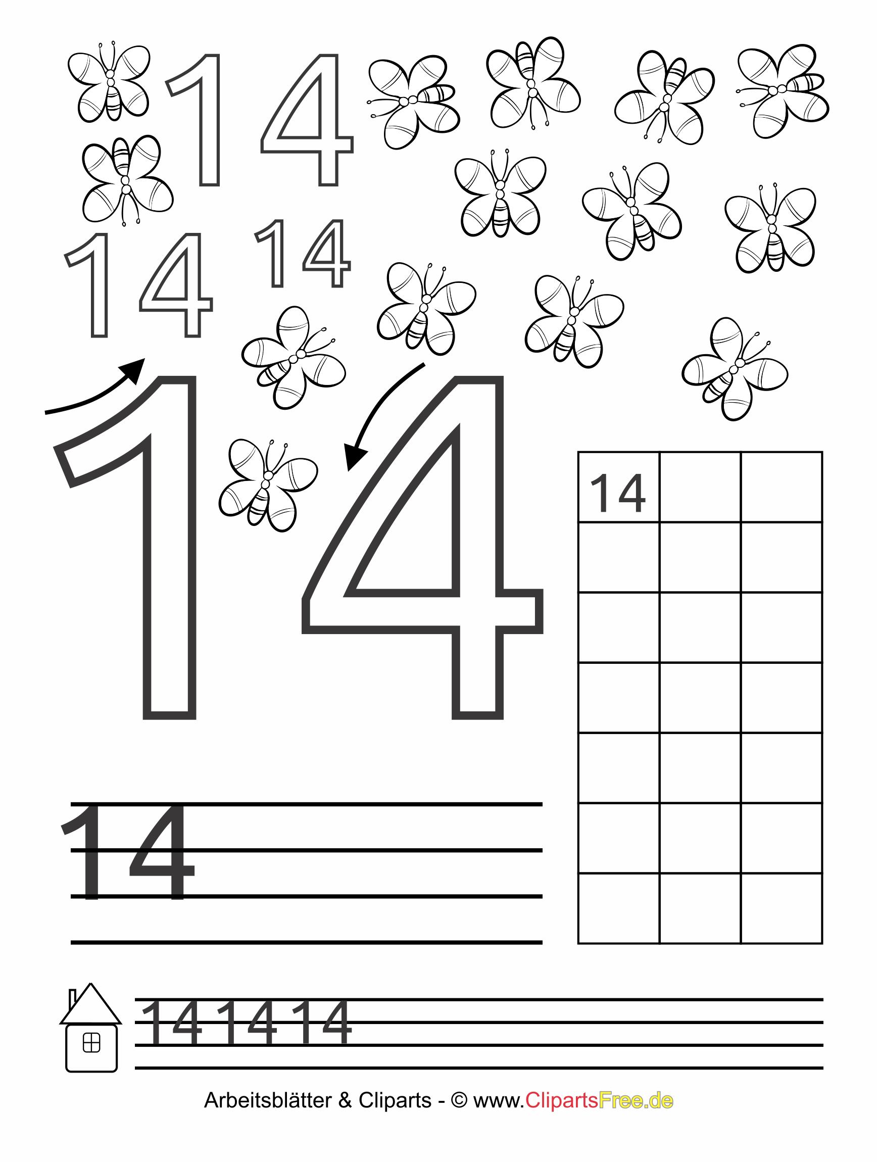 14 - Zahlen lernen im Kindergarten