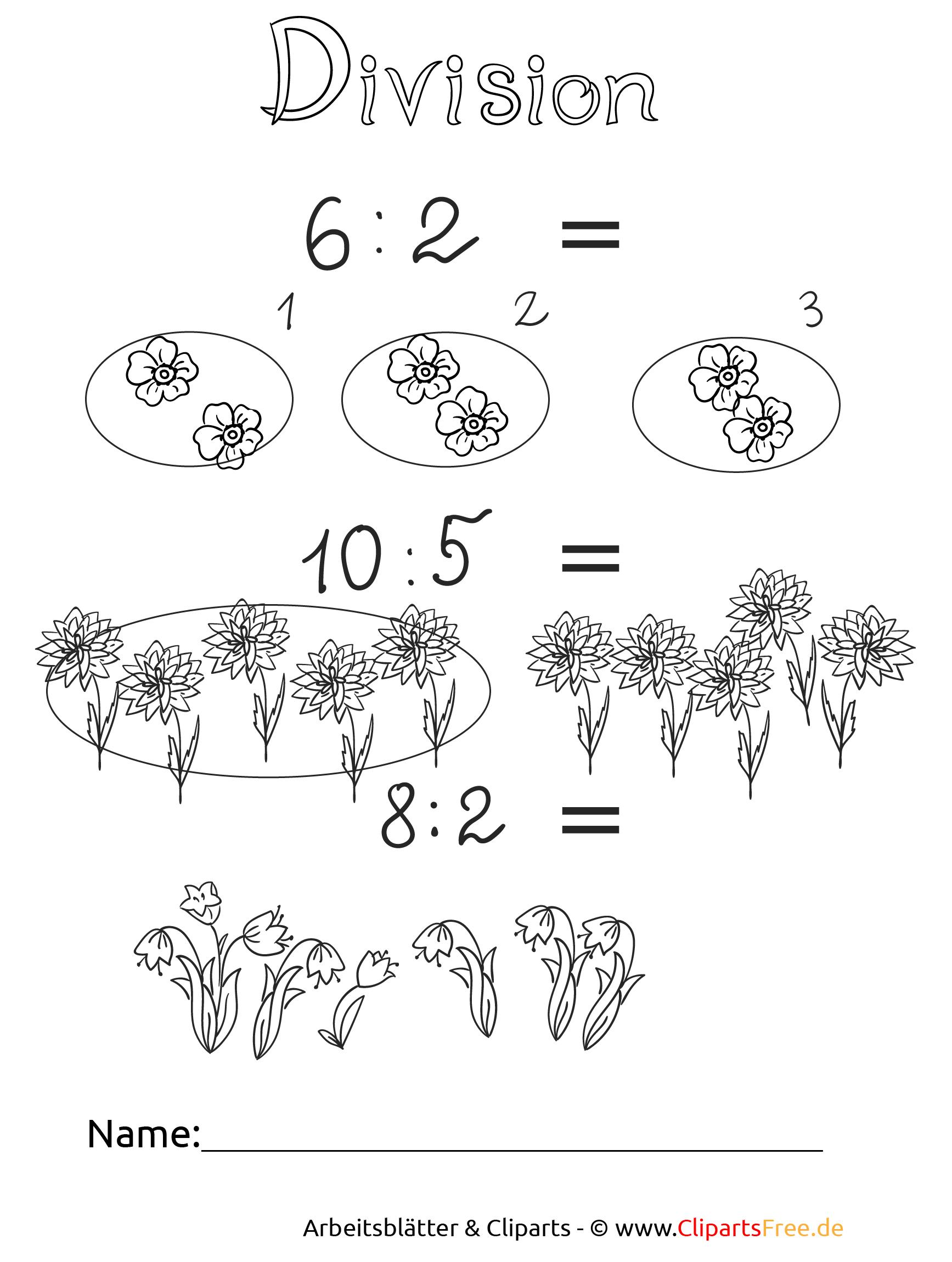 Mathematik Aufgaben Dividieren Druckvorlage
