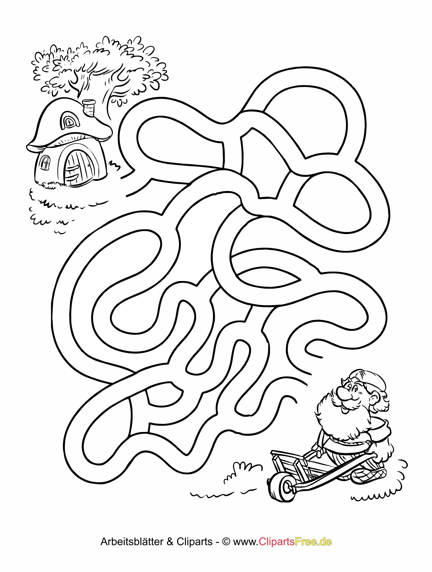 labyrinth zum ausdrucken fur erwachsene