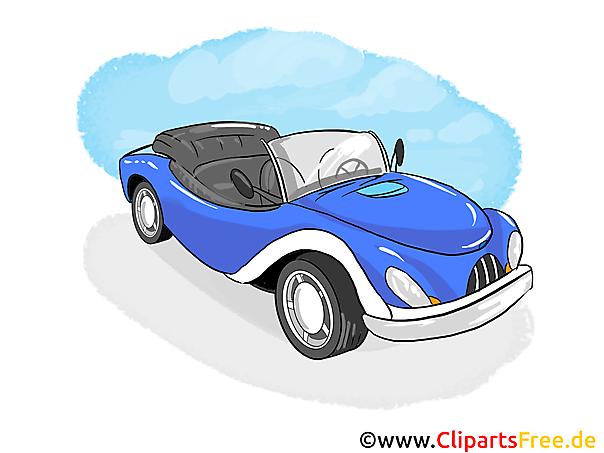 Convertible Vehicle Clip Art gratis