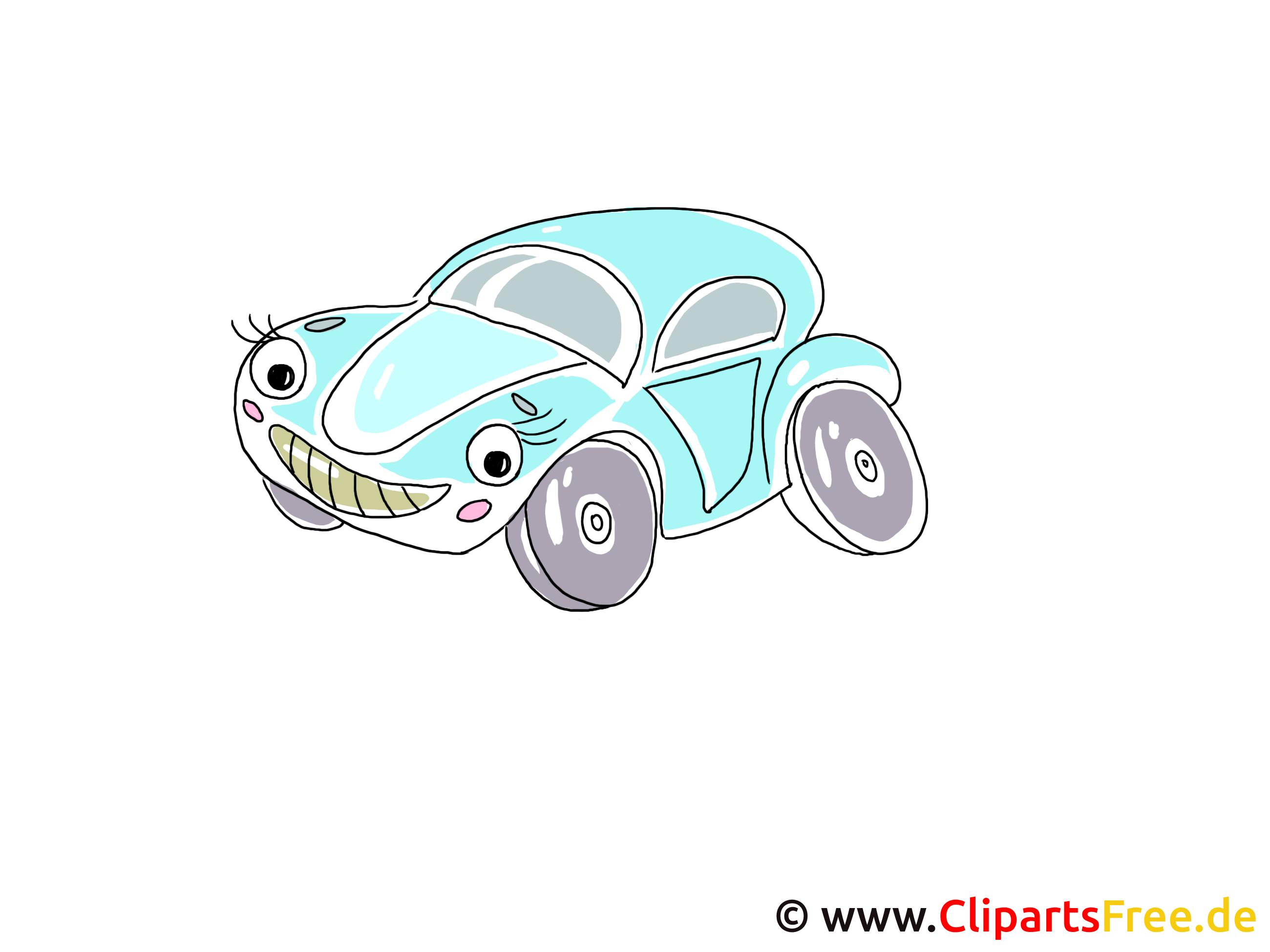 Auto, auto's Clipart