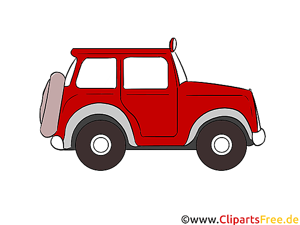 Off-road voertuig clipart, illustratie, foto gratis