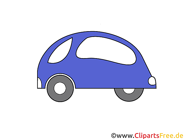 Personenauto Clipart, Illustratie, Gratis Beeld