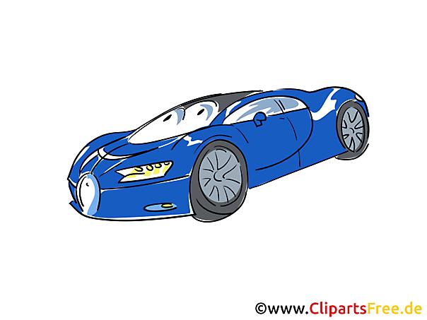 Sports Car Clip Art gratis
