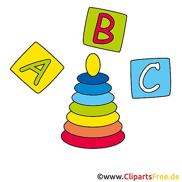Baby piramide speelgoed foto