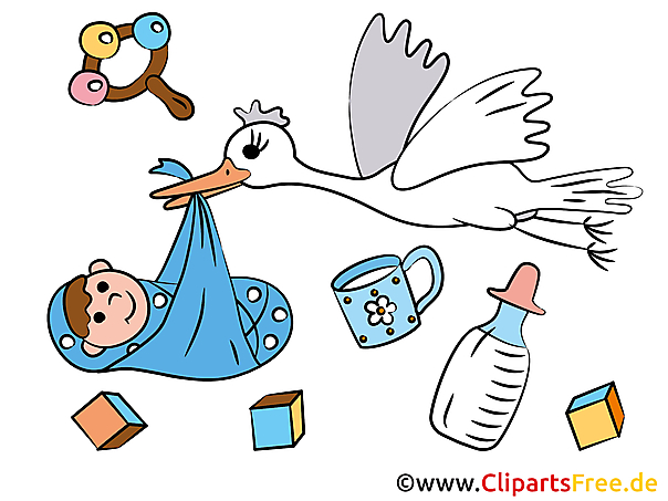 Clipart geboorte