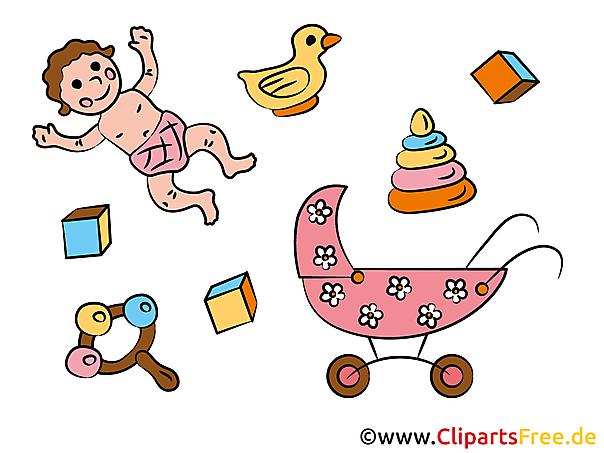 Clipart van een kind