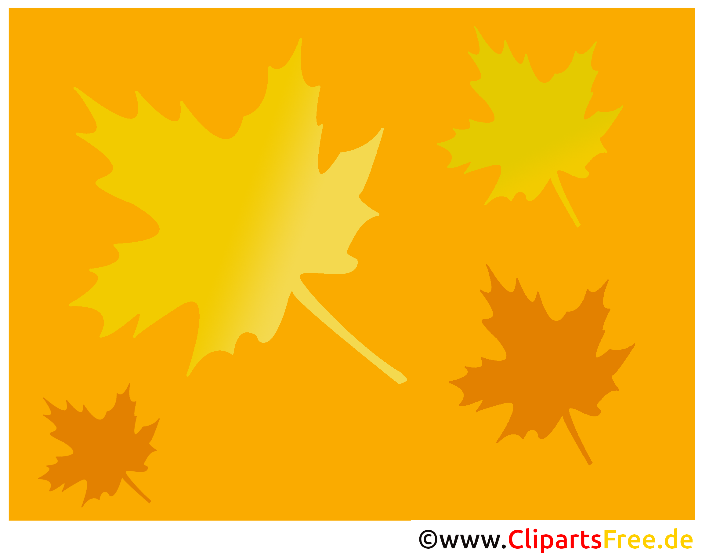 Hintergrundbild Herbst Ahornblätter herunterladen und mit Html in ...