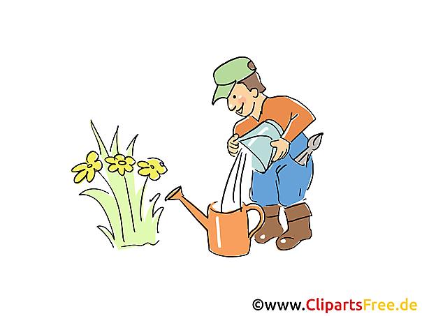 Bauer Clipart, Cartoon, Bild
