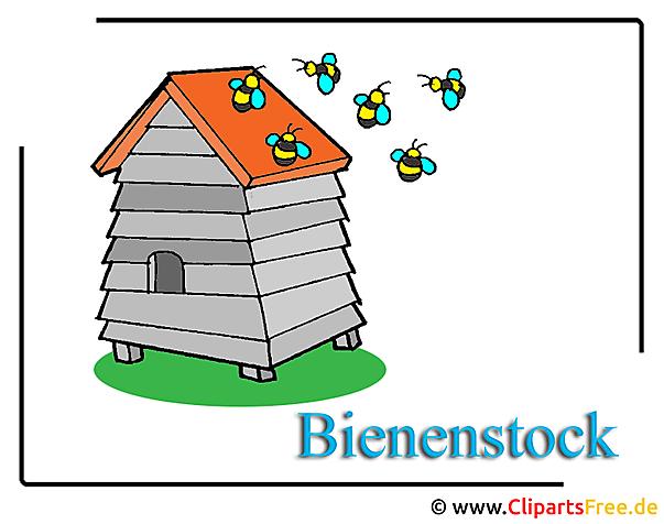 Bienenstock Clipart free