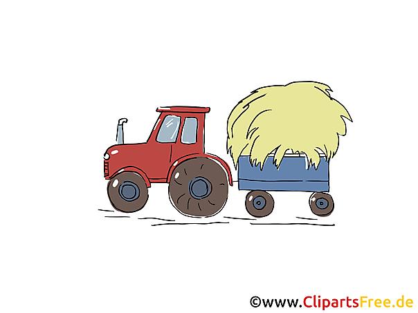 Clipart Bauernhof Traktor miz Anhaegner