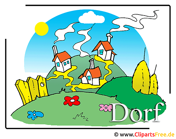 Dorf Clipart