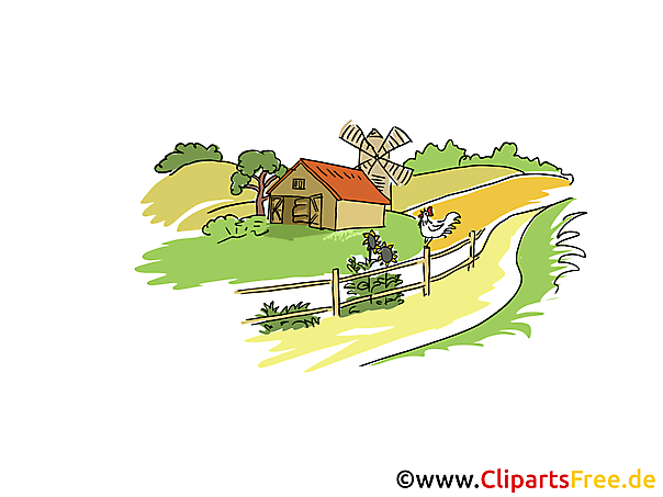 Farm Clip Art free