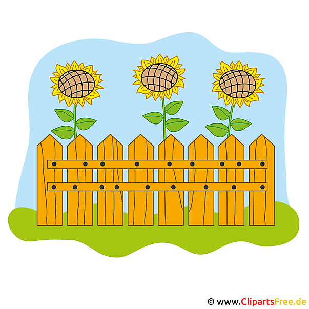 garten cartoon clipart free,