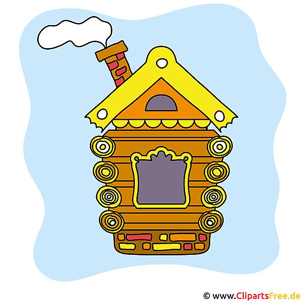 無料木造住宅画像クリップアート