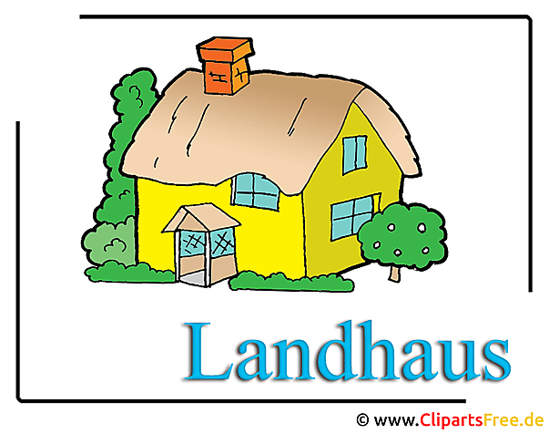 Haus Clipart-Cartoon free