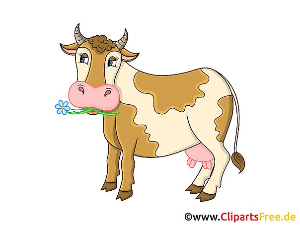 牛クリップアート、グラフィック、イラスト、無料画像