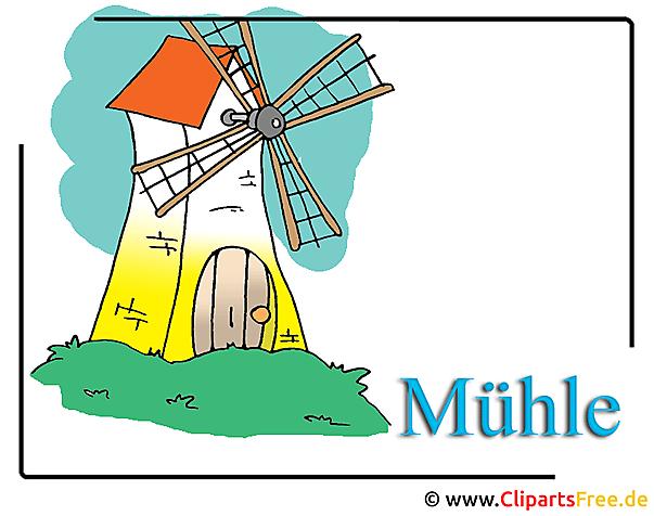 Mühle Clipart-Bild free