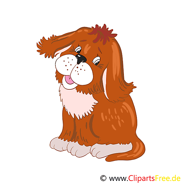 Welpe Cartoon, Bild, Illustration, Clip Art
