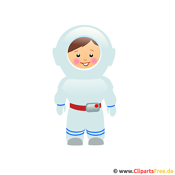 Astronaut Bild Clipart gratis