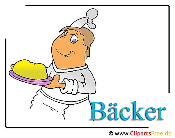 Bäcker Clipart Bild free