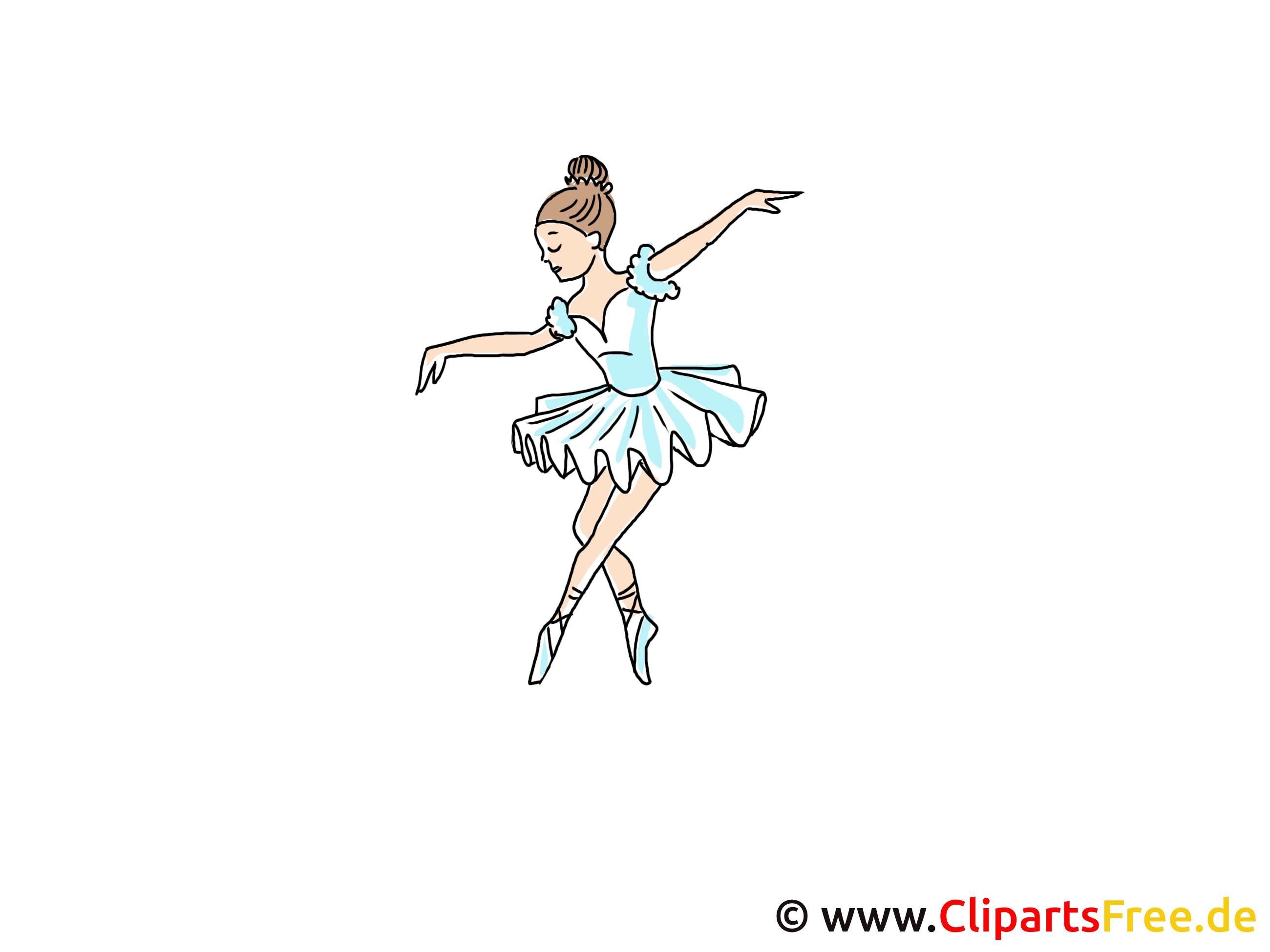 Balletttänzerin Clipart