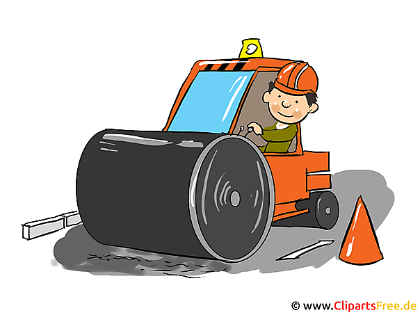 Baustelle schild clipart  Baustelle Clipart, Cartoon, Bild, Illustration gratis