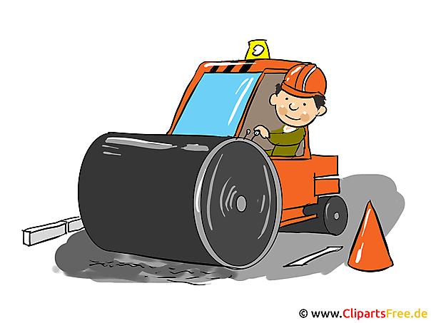 Bouwplaats clipart, cartoon, foto, gratis illustratie