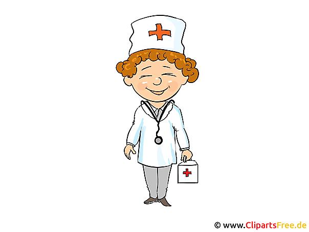 職業画像 - 医師画像クリップアート