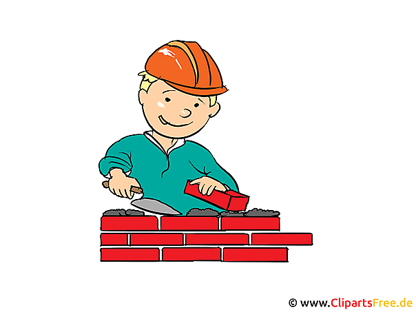 Clipart bouwvakker, bouwer, bouwplaats gratis